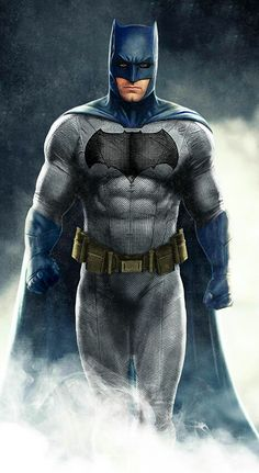 New Batman, classic colors. Ben Affleck. Do you see something weird about this new costume?