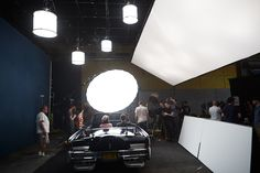 "Giant softbox / great lighting by Joey Lawrence. Killing Kennedy - Behind the Scenes; The making of the ""Killing Kennedy"" campaign."