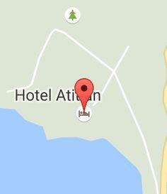Map of Hotel Atitlan Hotel