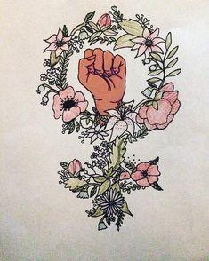 The Feminist Press – girl power tattoo Tattoo Girls, Girl Tattoos, Tatoos, Feminist Tattoo, Feminist Art, Girl Power Tattoo, Power Girl, Arte Dope, Birthday Tattoo