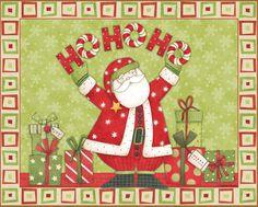 Debbie Mumm - Santa - Ho Ho Ho