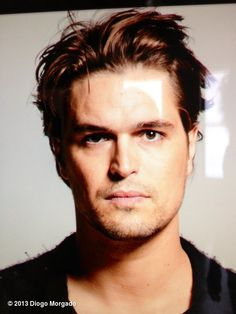 Diogo Morgado's photo: A glance of an awesome photo shoot today with the amazing Miranda Penn Turin