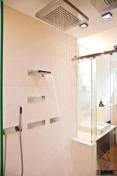 Shower experience DELUXE – TWIN shower with sliding door system manufactured by MWE! www.mwe.de/en