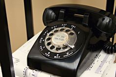 Rotary Dial Phone...brings back memories...my Grandparents still had one of these in their house until I was a teenager