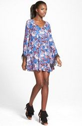 ASTR Lace Trim Shift Dress