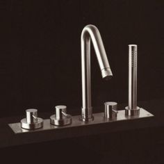 Stainless Steel Taps, Boffi, Faucet, Branding Design, Sink, Shower, Home Decor, Homemade Home Decor, Vessel Sink