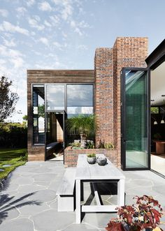 A new addition gives this home a large living space
