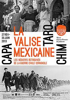 Robert Capa, Chim et Gerda Taro : la valise mexicaine - Musée d'Art et d'Histoire du Judaïsme - Du 27 février 2013 au 26 mai 2013