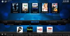 XBMC 12.0 adds new features including support for live TV and personal video recorder (PVR) functionality.