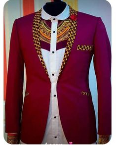 African Shirts For Men, African Dresses Men, African Attire For Men, African Clothing For Men, African Wear, African Suits, African Clothes, Nigerian Men Fashion, African Print Fashion