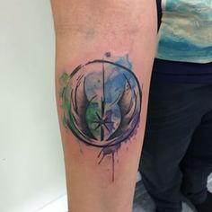 watercolour symbol tattoo - Google Search