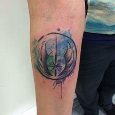 watercolour symbol tattoo - Google Search