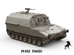 3D Model M-992 FAASV | Military Vehicle 3D Models | Karras - 3D Squirrel