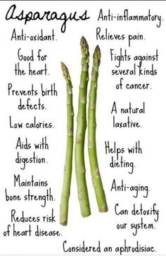 Asparagus. Just so happens this is my FAV veggie!
