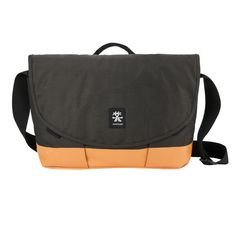 Crumpler Private Surprise Slim Laptop - M CHARCOAL / ORANGE for 13'' PSS-M-004 #Crumpler