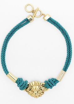 Anne Klein 'Roped In' Collar Necklace #jewelry #accessories #joyas #bisuteria