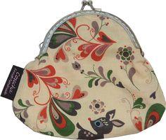 Ihana, ihana kauriskukkaro! ♥    http://www.cosecha.fi/product/301/kukkaro-luisa---kauriit  www.facebook.com/cosechanpuoti