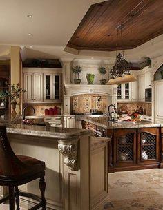 ...love this tuscan kitchen