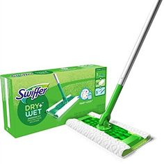 #Swiffer #Sweeper #Dry + #Wet All #Purpose #Floor #Mopping and #Cleaning #Starter #Kit with #Heavy #Duty #Cloths, Includes: 1 Mop, 19 Refills Cleaning Crew, Floor Cleaning, Kitchen Cleaning, Cleaning Kit, Cleaning Products, Mop Pads, Home Garden Design, Wet Wipe, Hard Floor