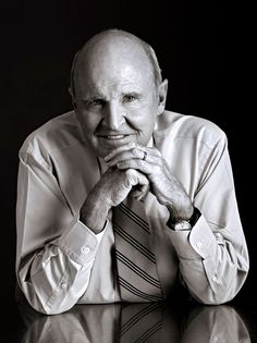 Jack Welch Patek Philippe Calatrava Yellow Gold Reference Jack Welch is considered to be one of the m. Jack Welch, Most Successful Businesses, Patek Philippe Calatrava, Corporate Photography, Celebrity Jewelry, Business Portrait, Portrait Poses, Role Models, Coaching