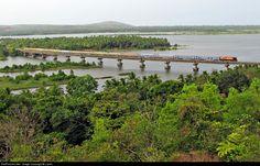 Honnavar bridge near Sanjeevini Homestay, Sagara, Karnataka, India