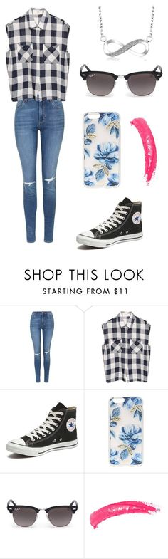 """Infinity"" by eemaj ❤ liked on Polyvore featuring Topshop, Converse, Sonix, Ray-Ban, women's clothing, women's fashion, women, female, woman and misses"