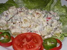Karcsi főzdéje: Hússaláta maradék sült húsból Empanadas, Pho, Potato Salad, Curry, Potatoes, Ethnic Recipes, Bulgur, Curries, Potato
