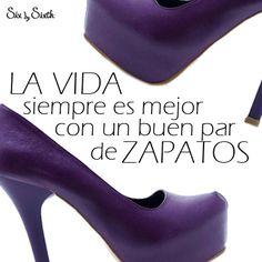 La vida siempre es mejor con un buen par de Zapatos | www.sixbysixth.mx