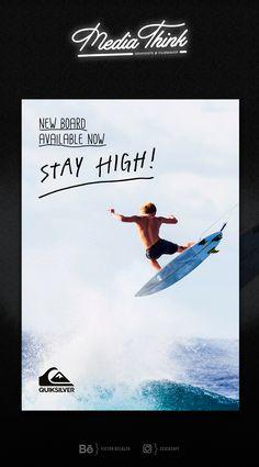 Traîne Photoshop for Quiksilver Surf Label #surf #surfdesign #posterdesign #quiksilver #waves #graphicdesign #design #graphicdesigninspiration #graphiste #flyer #photoshop #photoshopdesign #inspiration #surfing Stay High, New Board, Clip, Filmmaking, Surfing, Photoshop, Waves, Tours, Graphic Design
