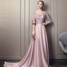 Modern / Fashion Candy Pink Pierced Evening Dresses 2018 A-Line / Princess Scoop Neck Sleeves Appliques Lace Sequins Beading Cathedral Train Ruffle Backless Formal Dresses Modern / Fashion Candy Pink Pierced Evening Dresses 2018 A-Line / Princess Scoop Glamorous Evening Dresses, Grey Evening Dresses, Burgundy Evening Dress, Beautiful Prom Dresses, Evening Gowns, Junior Prom Dresses, Pink Prom Dresses, Sweet 16 Dresses, Formal Dresses