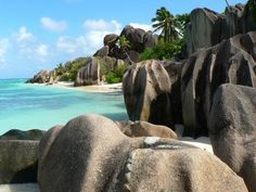 Republic of Seychelles-Granitic Island.An archipelago nation of 115 islands in the Indian Ocean, some 1,500 kilometres (932 mi) east of mainland Africa, northeast of the island of Madagascar.  The Granitic Seychelles are fragments of the ancient supercontinent of Gondwana, and have been separated from other continents for 75 million years.