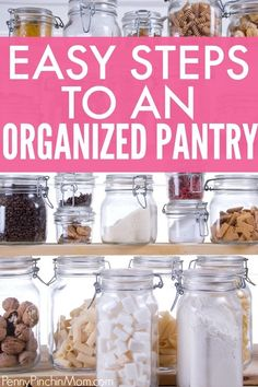 Organizing Your Pantry Saves You Money! Pantry Organization, Organized Pantry, Organizing Tips, Pantry Ideas, Small Pantry, Walk In Pantry, How To Make Spaghetti, Declutter Your Home, Food Hacks