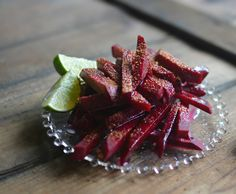 Have you tried beets with fresh lime and chili powder (tajin)? So very good!
