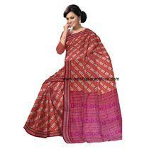OSS40001: Sambalpuri Puja Special Cotton Saree