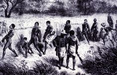 Slave Coffle, 19th cent.