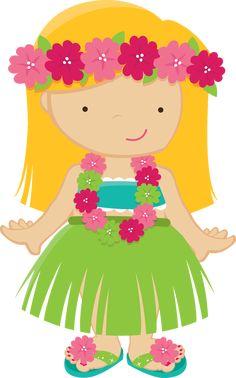 Hawaiian Hula Girl Png - Hula Girl Clip Art, Transparent Png is free transparent png image.