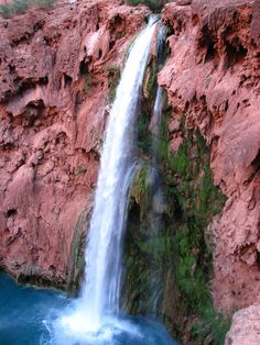 Mooney Falls, AZ | Check out these 10 unique waterfalls, which are located in various regions of the United States.