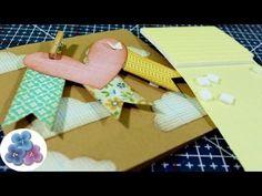 Como hacer Espumas Dimensionales *DIY how to foam pads* Tutorial Scrapbo...