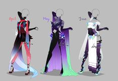 Outfit design - Months - 2 - ends in 6 hours! by LotusLumino on DeviantArt