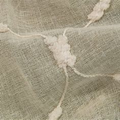 Pom Pom Linen by Charles Parsons Interiors Shindi sheer drapery fabric by Charles Parsons Interiors  #fabric #sheer #voile #sunfilter #decorative #neutral #drapery #curtains #charlesparsonsinteriors