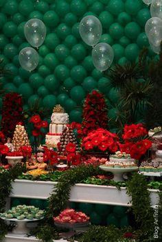 decoração de festa a bela e a fera-30 como receber em casa decoração mesas