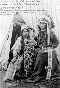Nez Perce family