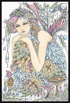 Fairy Tangles ~ beautiful artwork