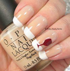 OPI French Tips #nailart