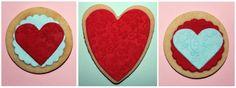 Recetas de Lau: Galletas San Valentín