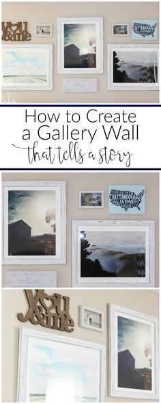 Learn how to create a gallery wall that tells a story