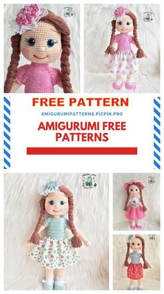 We continue to provide you with the latest recipes related to Amigurumi. Amigurumi doll zühre free crochet pattern is waiting for you. Doll Amigurumi Free Pattern, Crochet Dolls Free Patterns, Crochet Doll Pattern, Amigurumi Doll, Knitting Blogs, Cute Crochet, Crochet Projects, January 11, 30 Years