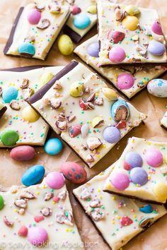 Easter Bunny Bark Recipe on Yummly. @yummly #recipe