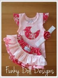 Funky Doll Designs - Tilda ruffle nappy cover and singlet set - $34 + $8.25 postage, headband $5  Available for custom order - visit Funky Doll Designs on Facebook  Email: funkydolldesigns@gmail.com