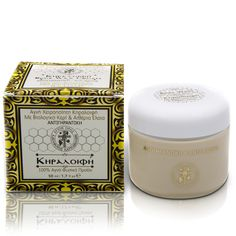 The anti-aging wax-cream from the Hut of St. George is rich in nourishing, moisturizing, soothing and anti-inflammatory agents. Secret Recipe, Saint George, Anti Aging, Moisturizer, Essential Oils, Decorative Boxes, Wax, Healing, Crete
